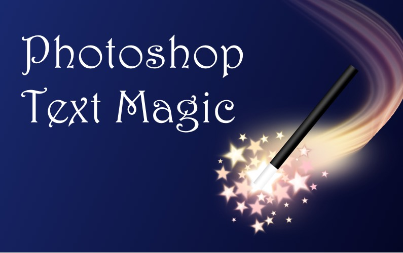 Photoshop Text Magic