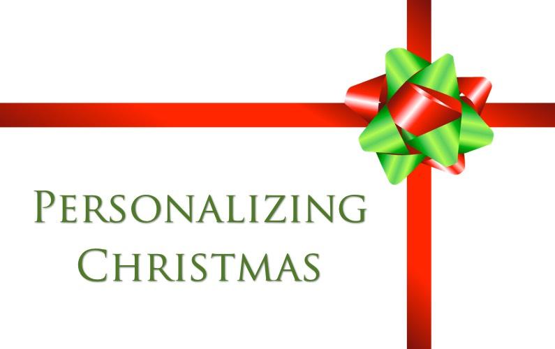 Personalizing Christmas