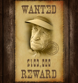 Wanted Poster - Blend Modes